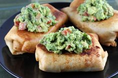 pan fried chicken chimichangas - uses shredded chicken