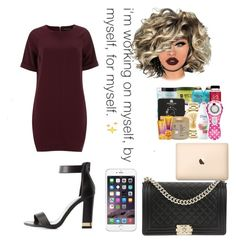 """""""Date Night"""" by jmfcupcake ❤ liked on Polyvore featuring Dorothy Perkins, Wild Diva, Lime Crime and Chanel"""
