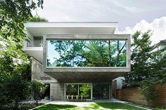 Concrete House in Toronto by Angela Tsementzis Architect – casalibrary