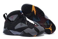 new concept 27016 ab606 Air Jordan 7 Bordeaux 2015 Black Bordeaux-Light Graphite-Midnight Fog