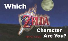 "Which ""Legend Of Zelda: Ocarina Of Time"" Character Are You- I'm Zelda ^-^!!!!!!"