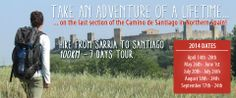 #Hiking Sarria to Santiago lots this year! Love the #CaminodeSantiago