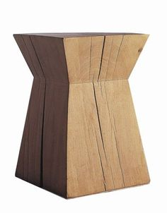 The Nagato stool, created in 1983 by François Champsaur and produced by Christian Liaigre