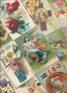 Antique  Mixed Lot of 25 Holidays & Greetings  Postcards-Vintage-a-339 #HolidaysGreetings
