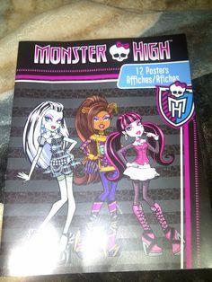 Monster High Guide: Monster High Poster Book