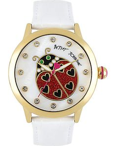 This would've tickled mom something silly! She loved Ladybugs And watches! =The Ladybug Watch:)
