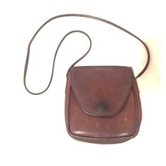 Coach crossbody bag Brown coach purse. Has signs of age, but nothing unsightly. Coach Bags Crossbody Bags