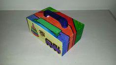 handgeschilderd kistje dat gepersonaliseerd kan worden.
