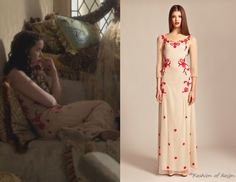 In Reign's mid-season finale Lola wears this Alice byTemperley Long Cherry Blossom Dress(£495).