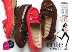 Avon Campaign 8- 3/19/2013, Cushion Walk Cute Comfy Flats! $24.99 Order Online and Get FREE SHIPPING! www.youravon.com/kellyolsen