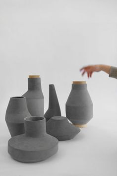 Design Poetry Handmade Biodegradable Cellulose Vases Pots And Pendant Lights By German Studio Ett La Benn At POETRY HAPPENS An Innovative