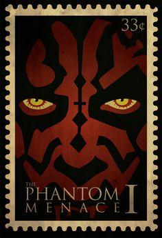 Star Wars: Episode I - The Phantom Menace #stamp #starwars #darthmaul