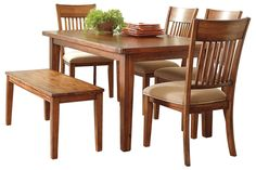 Shop Dining Room Tables at Ashley Furniture HomeStore. Gather with your family around a beautiful Modern, Glass, or Wood Dining Room Table. Wood Dining Bench, Dining Room Furniture, Dining Room Table, Kitchen Dining, Dining Chairs, Dining Sets, Furniture Ideas, Furniture Mall Of Kansas, Homemakers Furniture