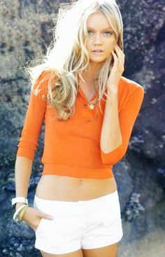 #yearofcolor orange top