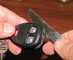 If your keyless entry 'fob' still doesn't work after replacing the battery, it might just be a problem with worn out contacts inside the device. Thes...