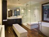 Modern Bathroom - modern - bathroom - minneapolis - by w.b. builders  (my style)