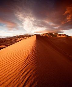 Mount Desert Sunset - Great Sand Dunes NP - CO   Flickr: Intercambio de fotos