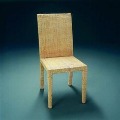 Rattan chair. Jean-Michel Frank