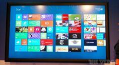 Quer um tablet com Windows 8? CEO da Microsoft tem um de 80 polegadas
