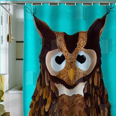 #DENY Designs             #love                     #DENY #Designs #Home #Accessories #Mandy #Hazell #Love #Shower #Curtain       DENY Designs Home Accessories | Mandy Hazell Owl Love You Shower Curtain                                http://www.seapai.com/product.aspx?PID=142110