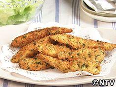 チーズの風味が濃いデス「鶏ささ身フライ」のレシピを紹介!
