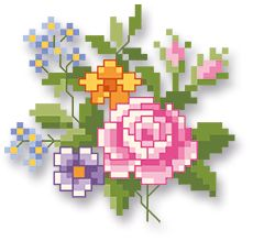 Petite Fleur Cross Stitch Fruit, Mini Cross Stitch, Cross Stitch Heart, Cross Stitch Cards, Beaded Cross Stitch, Cross Stitch Flowers, Cross Stitching, Cross Stitch Embroidery, Cross Stitch Designs