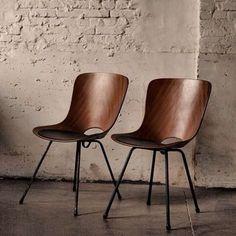 Medea Chairs designed by Vittorio Nobili #interior #interiör #inredning #inspiration #chairs #dekoration #decoration #möbler #furniture #design #home #decor #homedecor #hem #minimalism #ideas #ideer #scandinaviandesign #danishdesign #interiør #møbler #inspirasjon #nordiskehjem