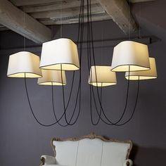 Design Chandelier - Chandelier and Pendant - Indoor Lighting Interior Lighting, Interior Styling, Chandelier In Living Room, Black Chandelier, Luminaire Design, Scandinavian Home, Pendant Lamp, Outdoor Lighting, Lamp Light