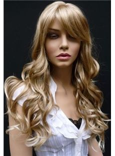 Wavy 24 Inches Capless 120% Synthetic Hair
