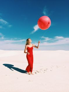 Weather balloons in White Sands