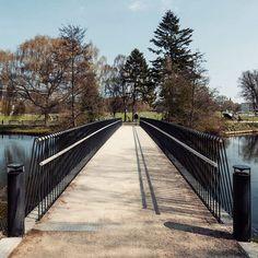 Mlrp's woven bridge, Copenhagen