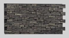 Texture Plus Panels - Stacked Stone Contemporary Select - Gray - Interlock
