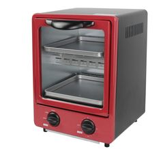 Vertical toaster oven