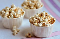maple-butter spiced popcorn. coated with cinnamon, ginger, nutmeg and mapley-goodness