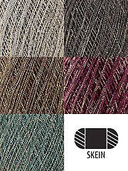 Universal Yarn Universe - sock weight, 1.75 oz., has some sparkle in it