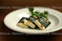 Жареный сыр в нори - простая закуска