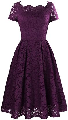 Bridesmaid Dresses Online, Bridesmaid Dress Colors, Pretty Dresses, Beautiful Dresses, Dress Outfits, Fashion Dresses, Lace Dress Styles, Lace Overlay Dress, Scalloped Dress