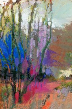 Casey Klahn came to Texas last weekend and gave a pastel workshop like no other! He's a Modernist and a Colorist in the nature of Henri Ma. Pastel Landscape, Landscape Art, Landscape Paintings, Soft Pastel Art, Pastel Drawing, Abstract Tree Painting, Abstract Watercolor, Paintings I Love, Illustrations