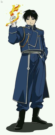 Roy Mustang, the Flame Alchemist