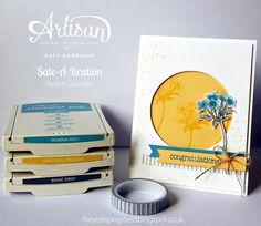 The Stamping Shed: Stampin' Up! Artisan design team Sale-a-Bration Blog hop