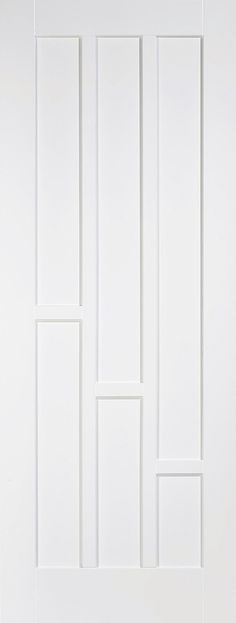 The Coventry door features a 6 panel design but unlike the standard colonial 6 panel door the Coventry features a three up and three down style of panelling. Supplied primed ready for on-site finishing. 6 Panel Doors, White Internal Doors, Panel Moulding, Fire Doors, Door Furniture, Entrance Doors, Coventry, Home And Garden, Panelling