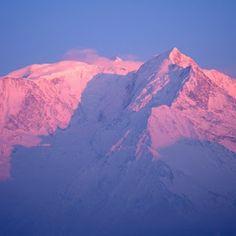 Saint-Gervais, le Mont Blanc