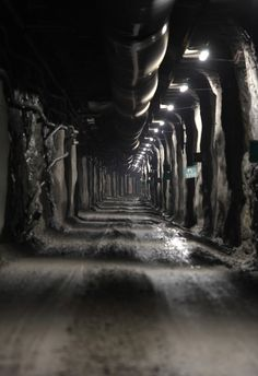 access tunnel to Onkalo, Finland, an underground nuclear storage facility currently under construction. Built into the 2bn year old bedrock, it is meant to contain the country's nuclear waste for the full 100,000 years during which it is still harmful for humans