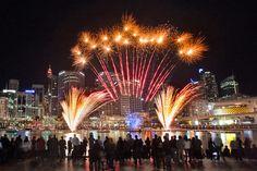 Gotta love the fireworks!
