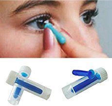 Check out these handy Inserter Removers for hard / rgp and soft contact lenses. The Solid Inserter can both be used with soft lenses and hard lenses. Simply rest the lens on the end of the inserter and insert the lens into your eye. Hard Contact Lenses, Cosmetic Contact Lenses, Concealer, Paraben Free Makeup, Halloween Contacts, Halloween Makeup, Scary Halloween, Halloween Ideas, Makeup Blender