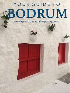 Grand Bazaar Shopping: YOUR GUIDE TO BODRUM, TURKEY
