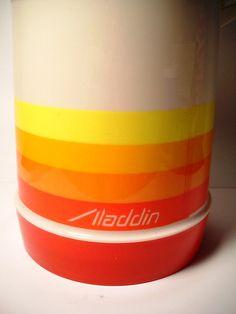 #vintage Aladdin vacuum insulated #newstalgia