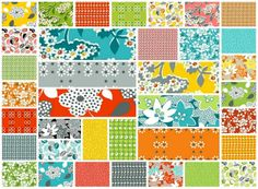 Love this repro line ~ Mimosa 36 Fat Quarter Set by Another Point of View for Windham