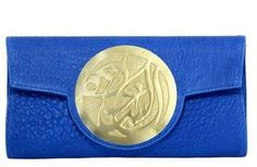 ShopStyle: Dareen Hakim Le Icon - Sapphire Clutch *VOGUE FAV* from Boticca