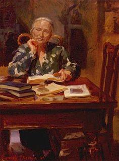 """""""Teacher"""", by Evgeny Baranov and Lyudmila Velichko Baranov"""